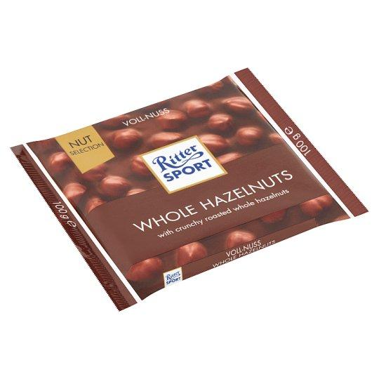 Ritter Sport Milk Whole Hazelnut, 100 g