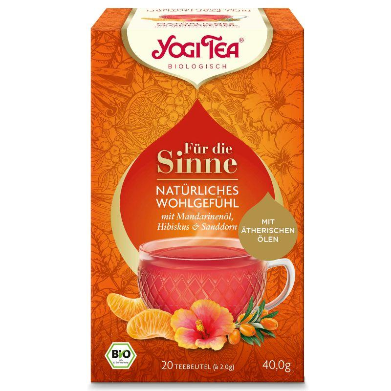 Yogi For the Senses Nat Wellbeing, 20 bags