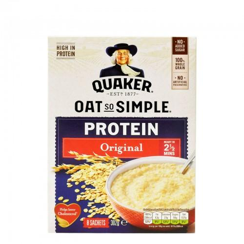 Quaker So Simple Oat Protien Original, 302 g