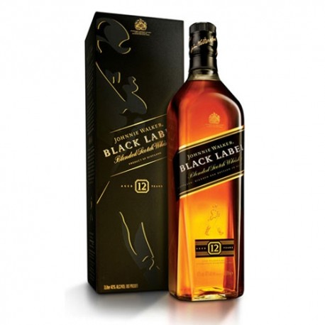 Johnny Walker Black 12y, 75 l