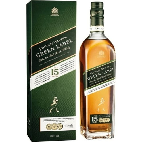 JW Green Label 15 Y, 75 cl
