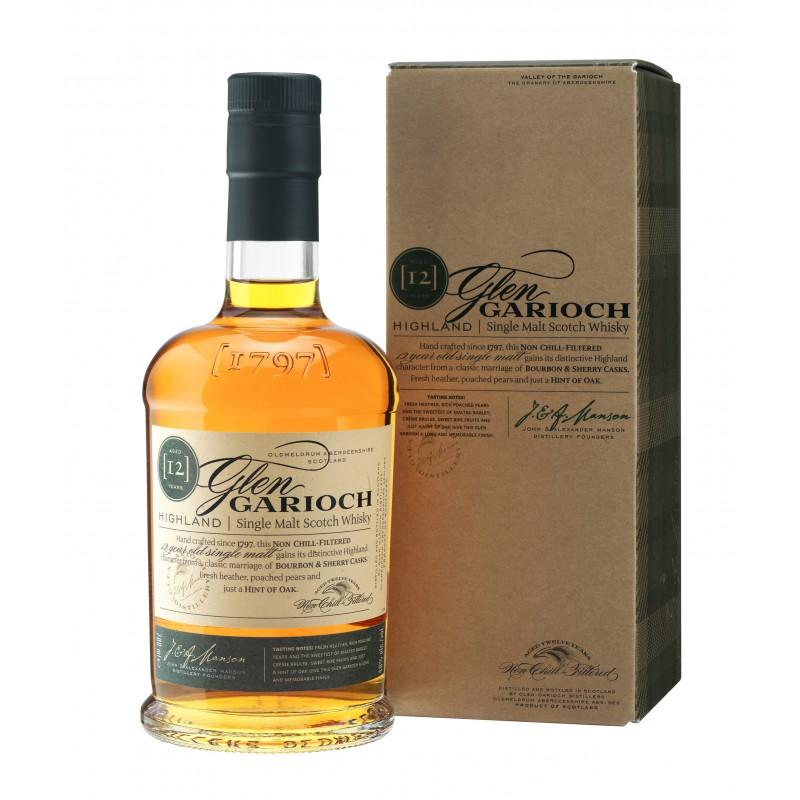 Glen Garioch 12 Y Single Malt, 70 cl