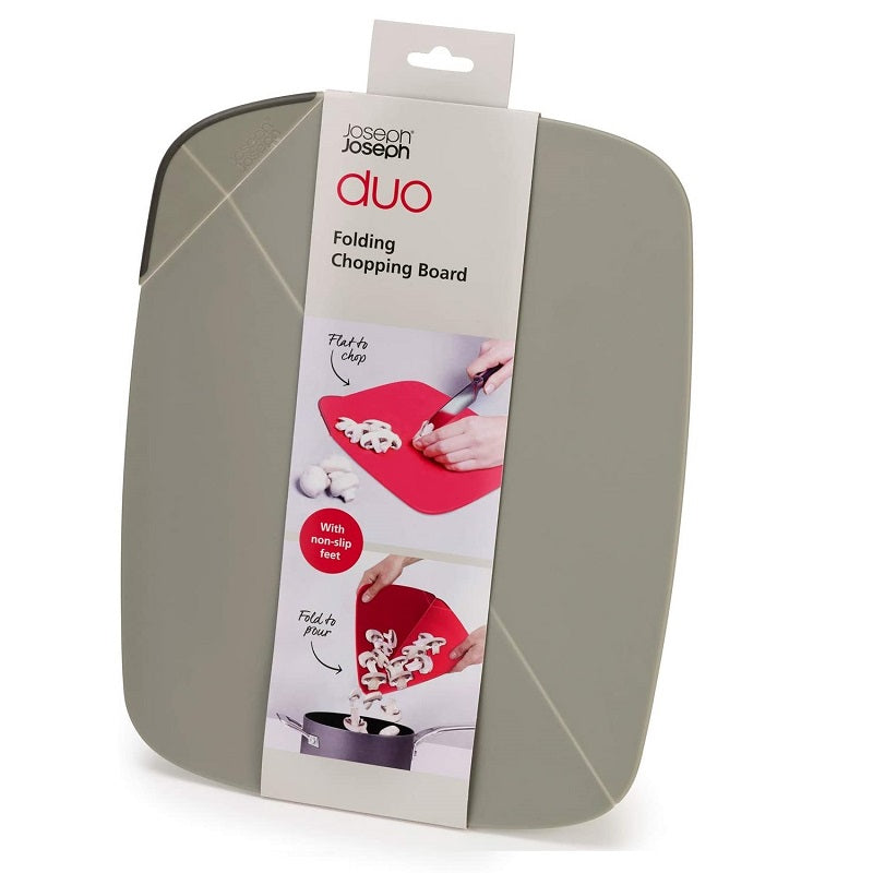 Joseph Joseph Duo Folding Chopping Board Grey, 32.5 cm  (USD)