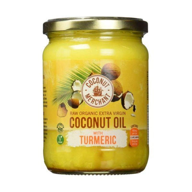 Coconut Merchant Vegan Coconut Oil With Tumeric, 500 ml