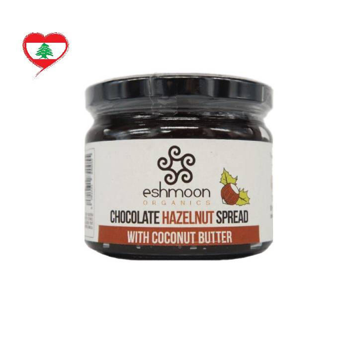 Eshmoon Organic Chocolate Spread Hazelnut GF, 330 g