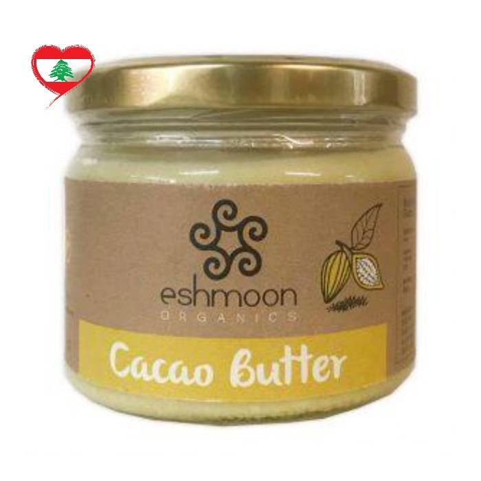Eshmoon Organic Vegan Cacao Butter SF, 250 g
