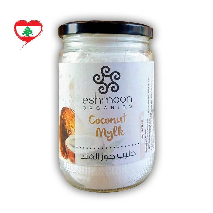 Eshmoon Organic Coconut Mylk Powder GF DF, 270g