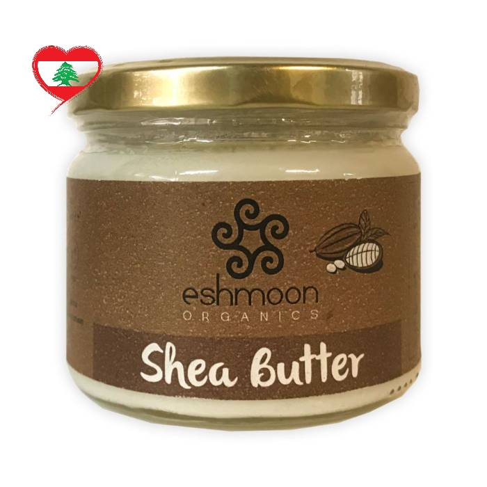 Eshmoon Organic Vegan Shea Butter, 250 g