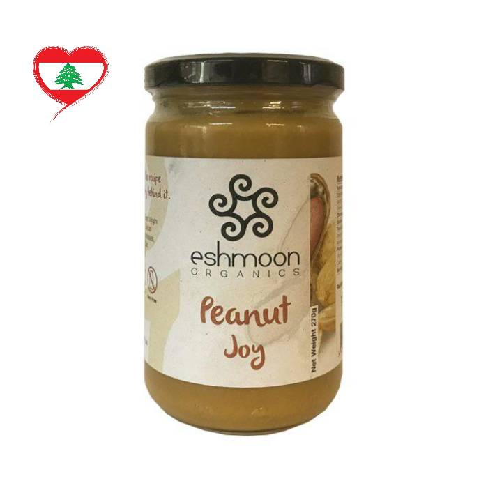 Eshmoon Organic Peanut Butter Joy GF DF, 270 g