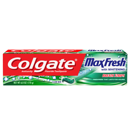 Colgate Toothpaste Max Fresh Clean Mint, 6 oz (BB: 31-03-2021)