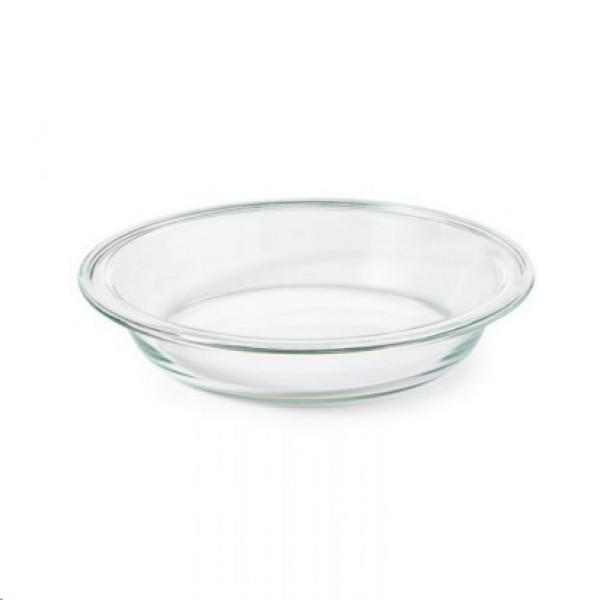 oxo glass bakeware pie plate, 9 In