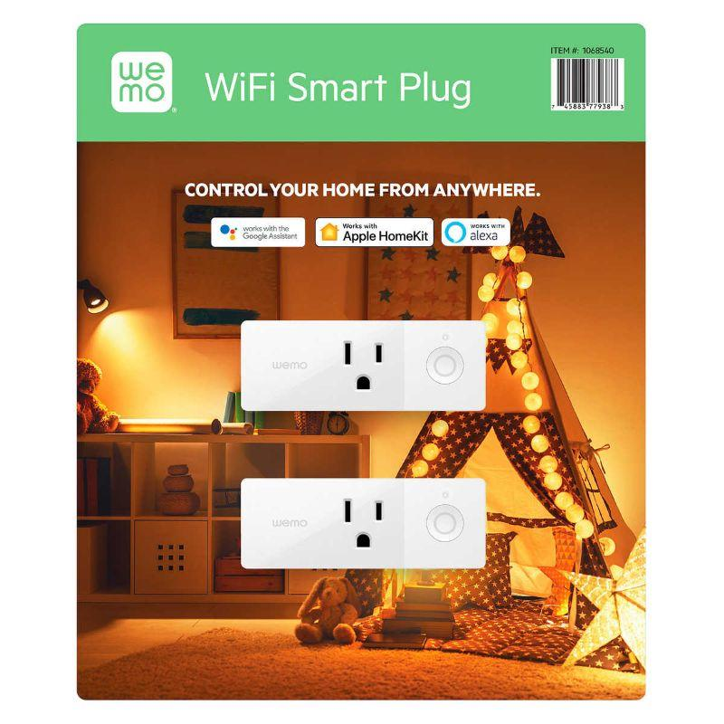 Wemo Mini WiFi Smart Plug,745883779383
