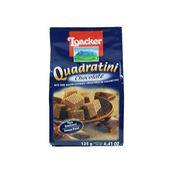 Loacker Bag Chocolate Quadratini 125 g