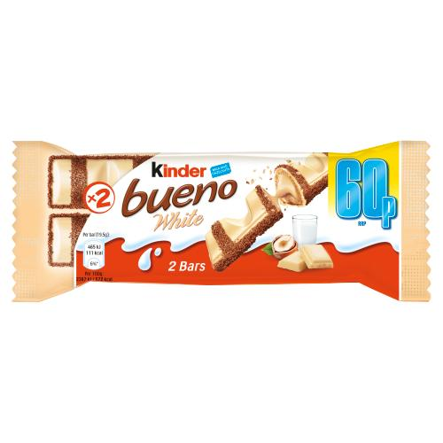 Kinder Bueno White Chocolate, 43 g