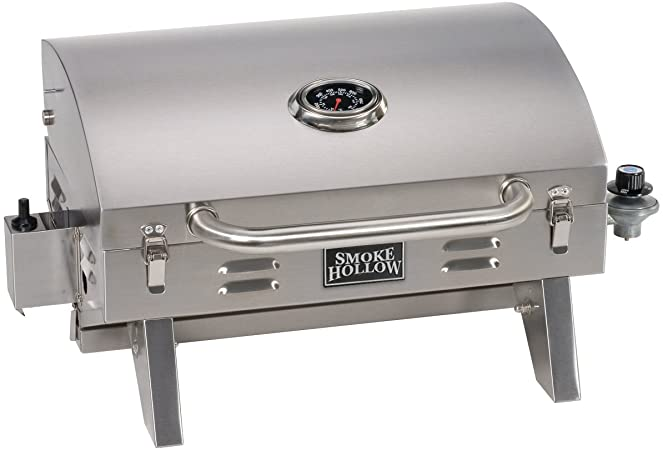 Smoke Hollow Stainless Tabletop Grill  (USD)