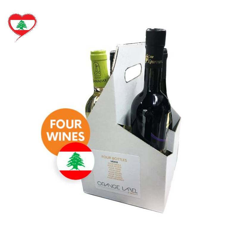 Lebanese Wine Bundle, 4 Bottles
