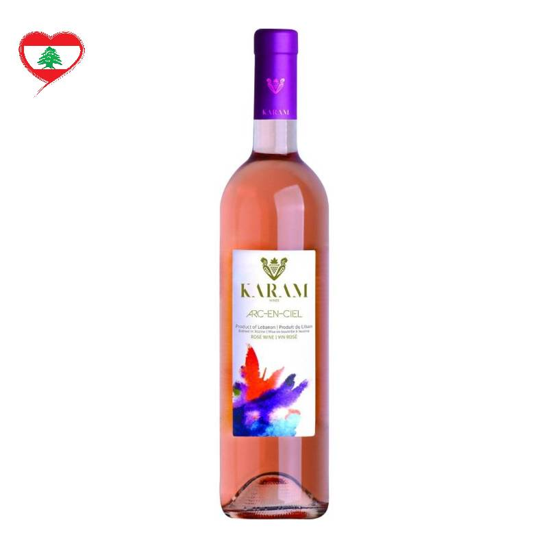 Karam Wines Arc En Ciel Rose 2018