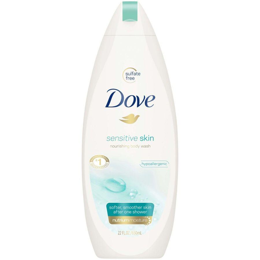 Dove Body Wash Sensitive Skin, 24 oz