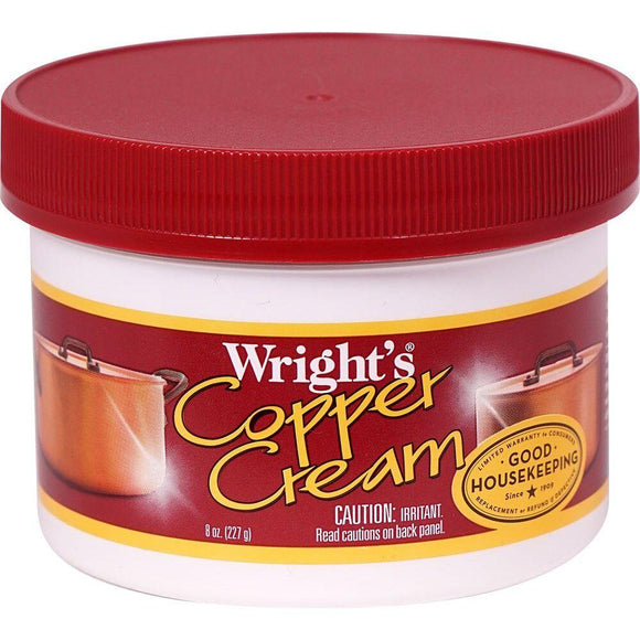 Wright's, Copper Cream Jar, 8 oz