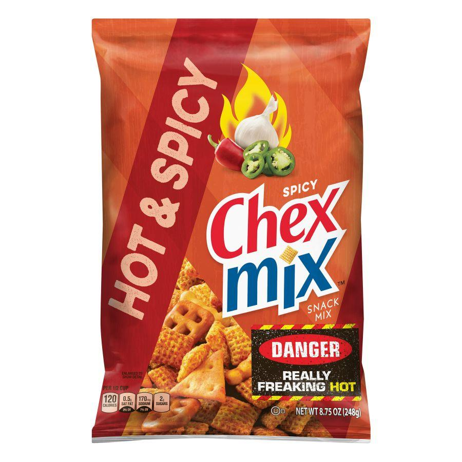Chex Mix Snack Hot & Spicy, 8.75 oz