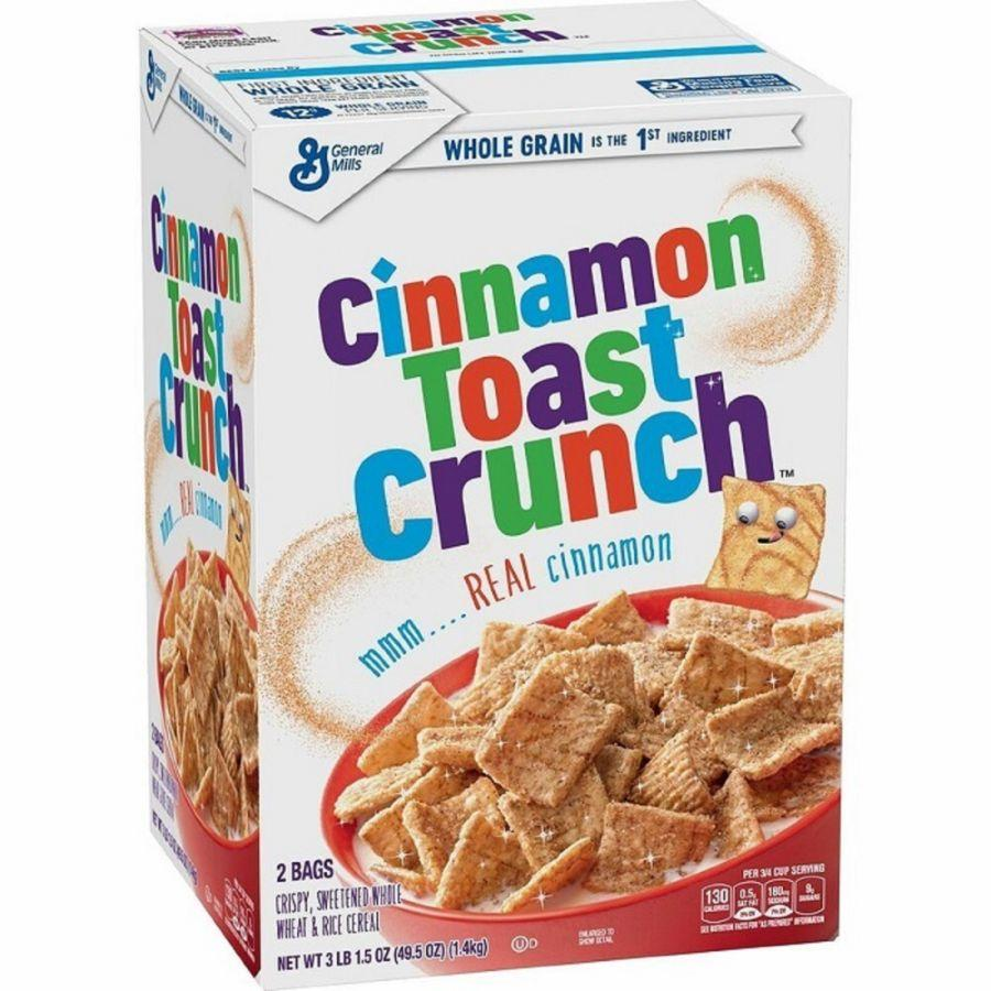 General Mills Cinnamon Toast Crunch, 49.5 oz