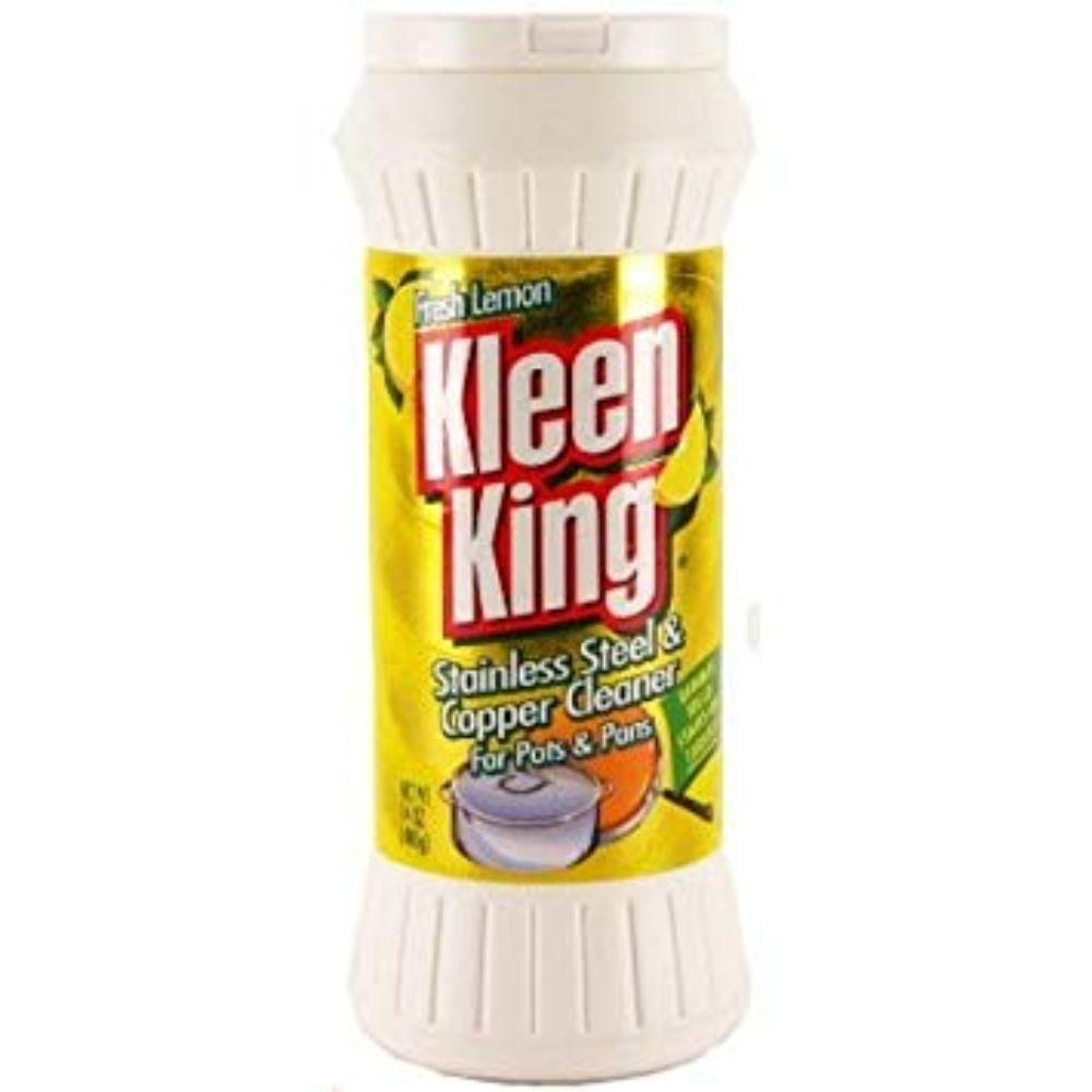 Kleen King, Stainless Steel & Copper Cleaner Lemon, 14 oz