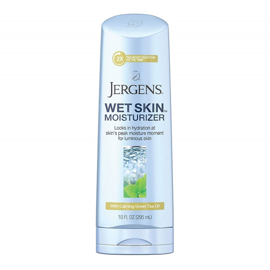 Jergens, Wet Skin Body Moisturizer with Calming Green Tea Oil, 10 oz