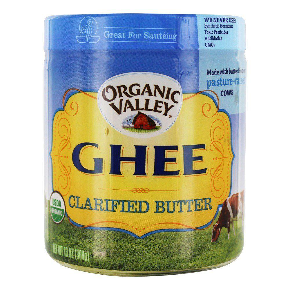 Organic Valley Ghee Clarified Butter, 13 oz