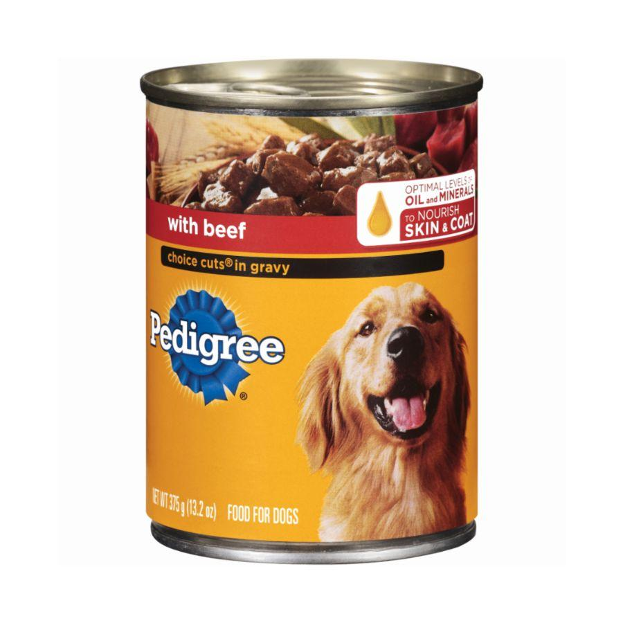 Pedigree Beef Canned Dog Food, 13.2 oz