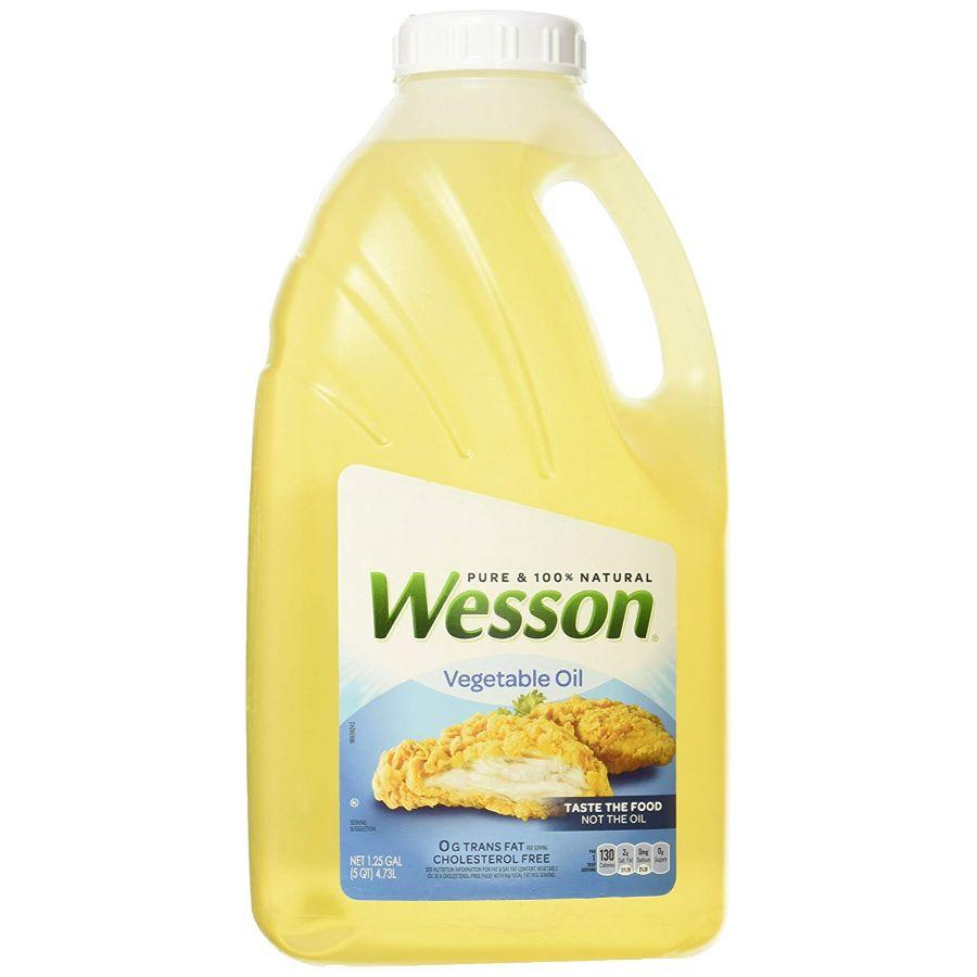 Wesson Vegetable Oil, 4.73 L