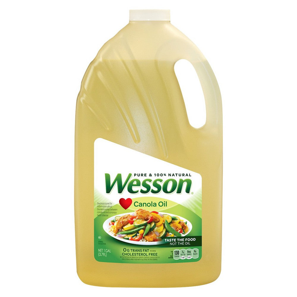 Wesson Canola Oil, 3.79 L