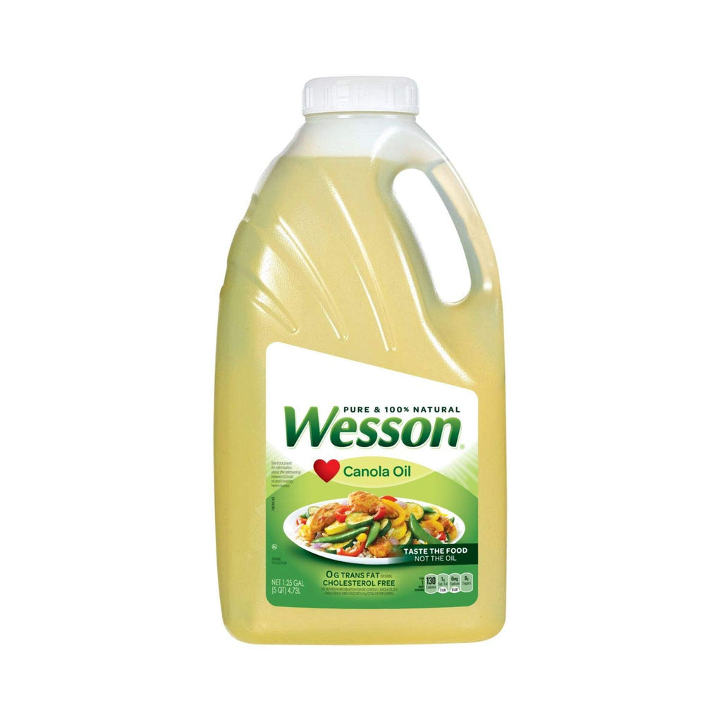 Wesson Canola Oil, 4.73 L