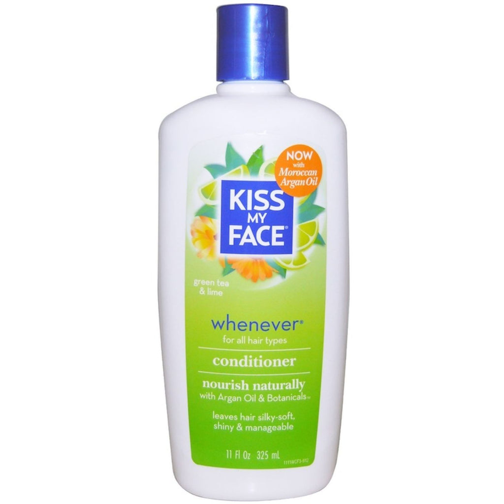 Kiss My Face, Whenever Conditioner, Green Tea & Lime, 11 oz