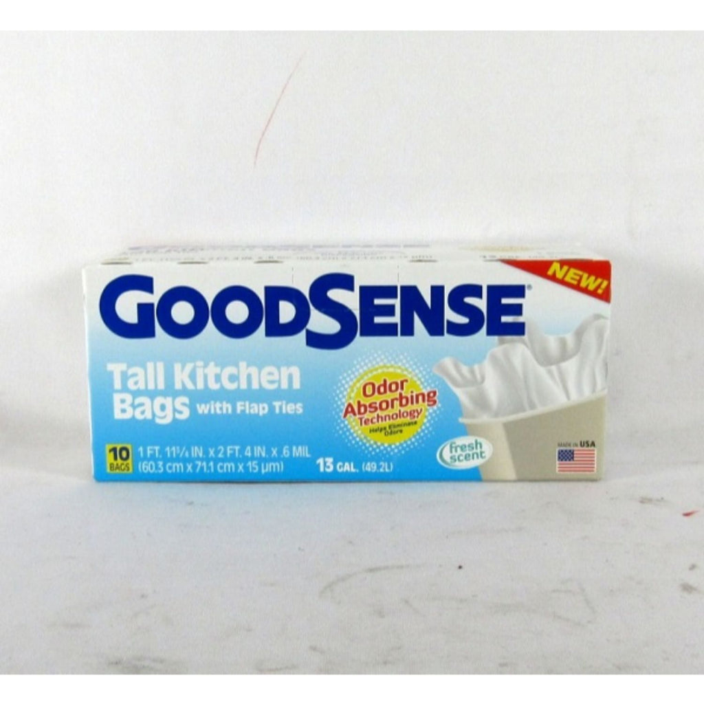 Good Sense, Tall Kitchen Bag 13gal, 10 Ct