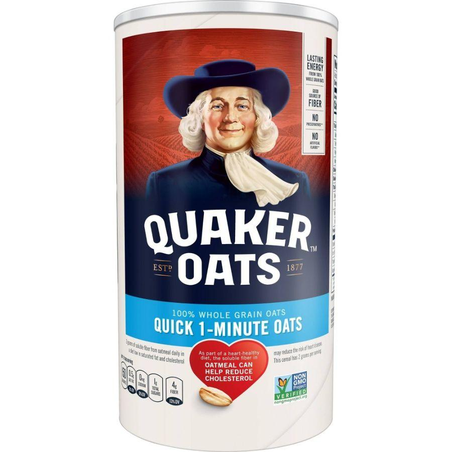 Quaker Oats Quick 1 Min, 18 oz