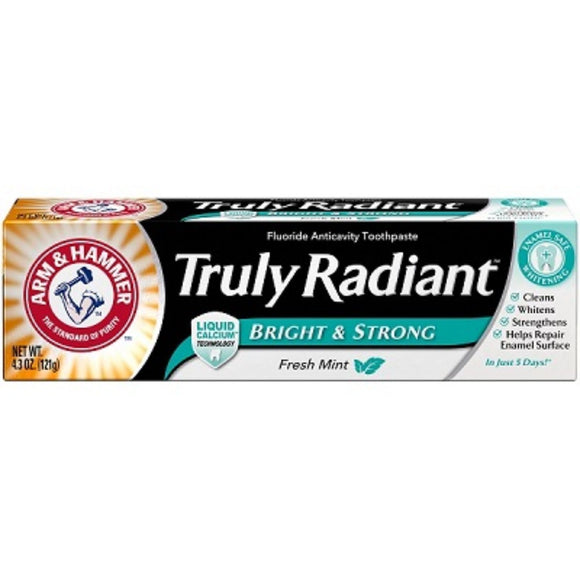 Arm & Hammer ToothPaste Truly Radiant Mint, 4.3 oz