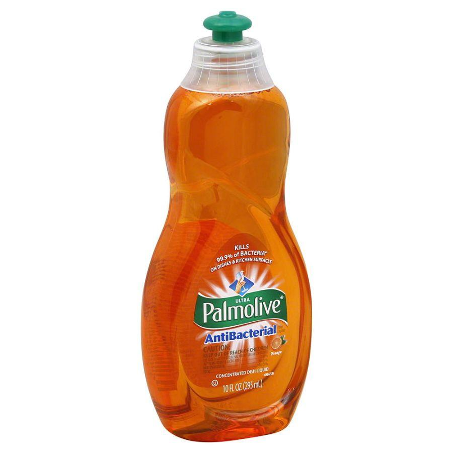 Palmolive Dishwashing Liquid AntiBacterial Orange, 10 oz