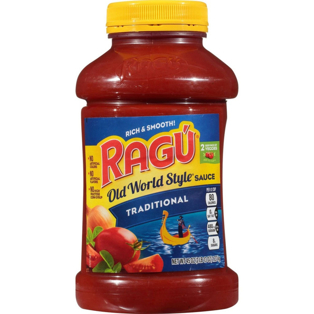 Ragu Traditional Pasta Sauce, 45 oz