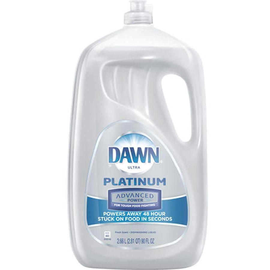 Dawn Platinum Advanced Power Liquid Dishwash, 90 oz
