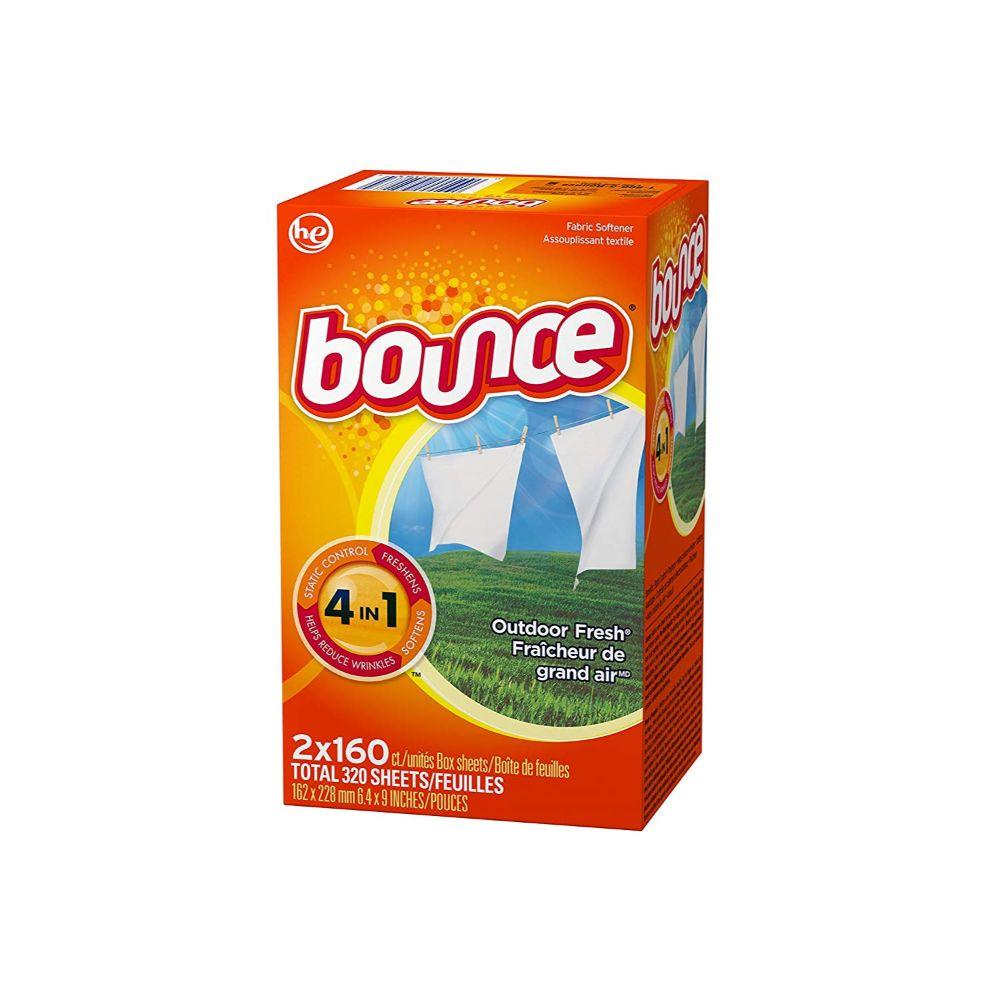 Bounce, Dryer's Sheet, 320 Ct