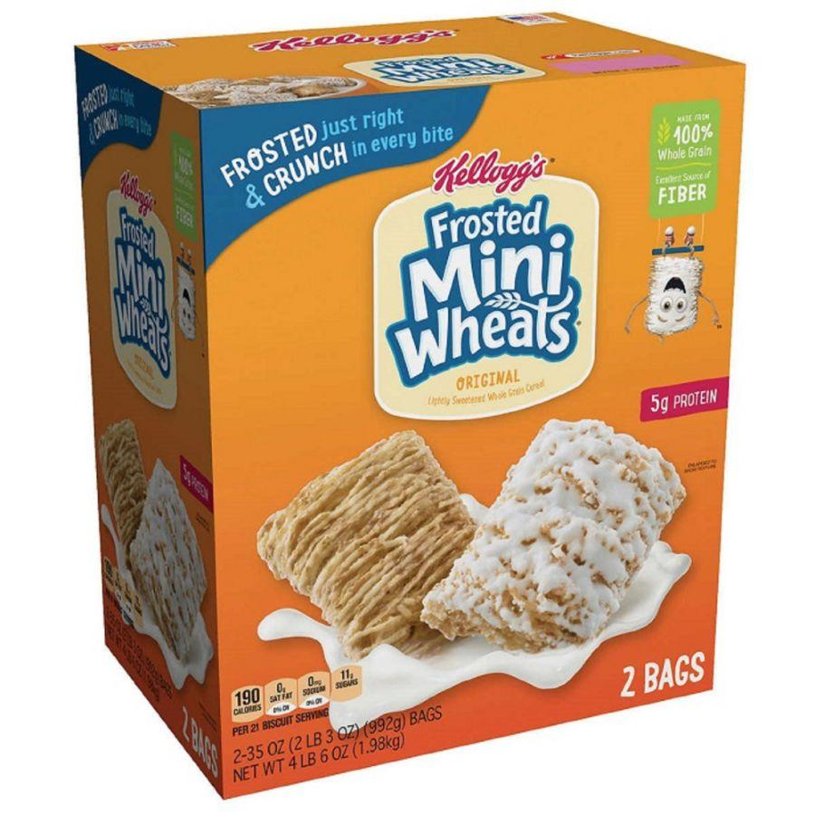Kellogg's Frosted Mini Wheats, 2x 35 oz