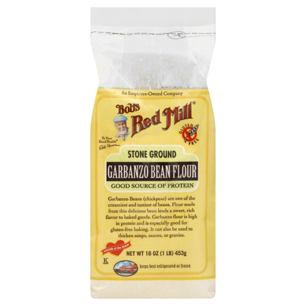 Bob's Red Mill, Garbanzo Bean Flour Gluten Free, 16 oz