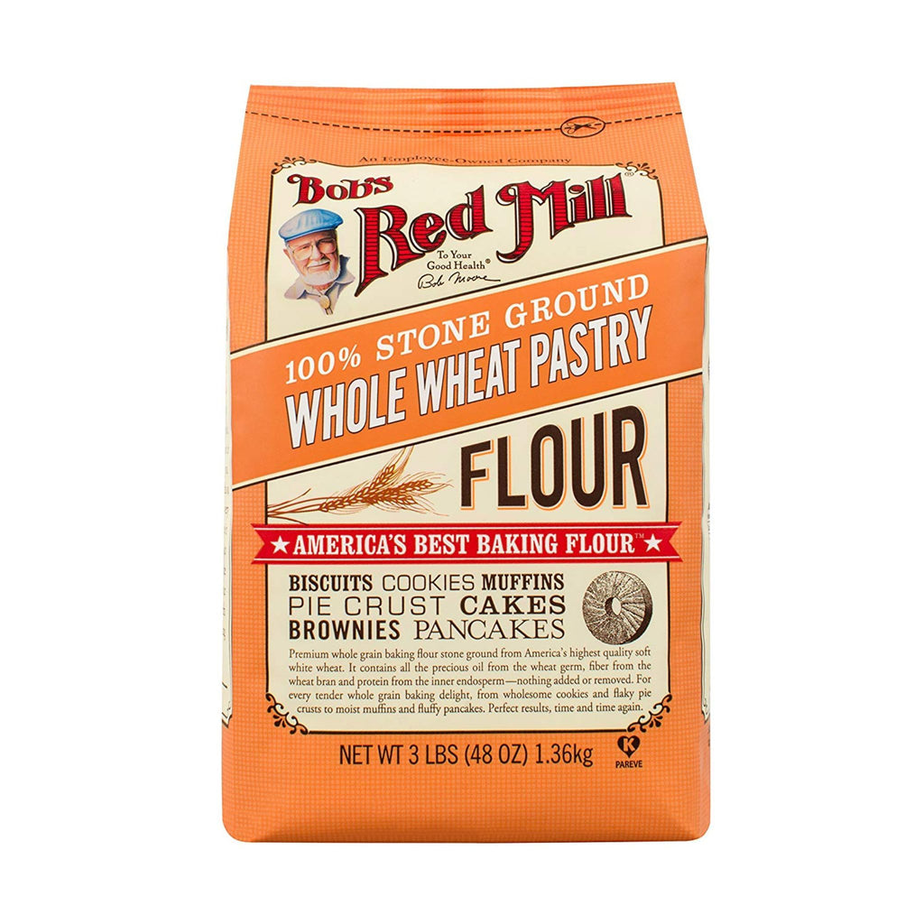 Bob's Red Mill, Whole Wheat Pastry Flour, 48 oz