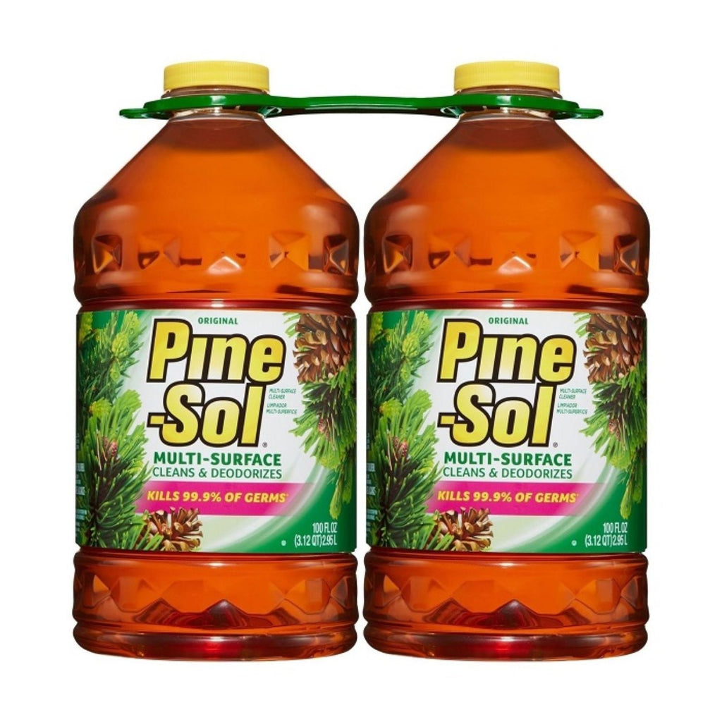 Pine-Sol, Multi-Surface Cleaner, 2x 100 oz