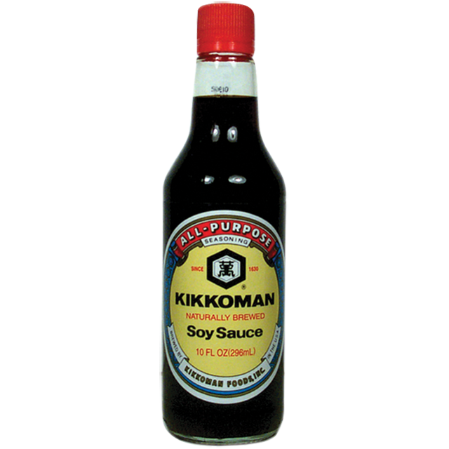 Kikkoman Naturally Brewed Soy Sauce, 10 oz