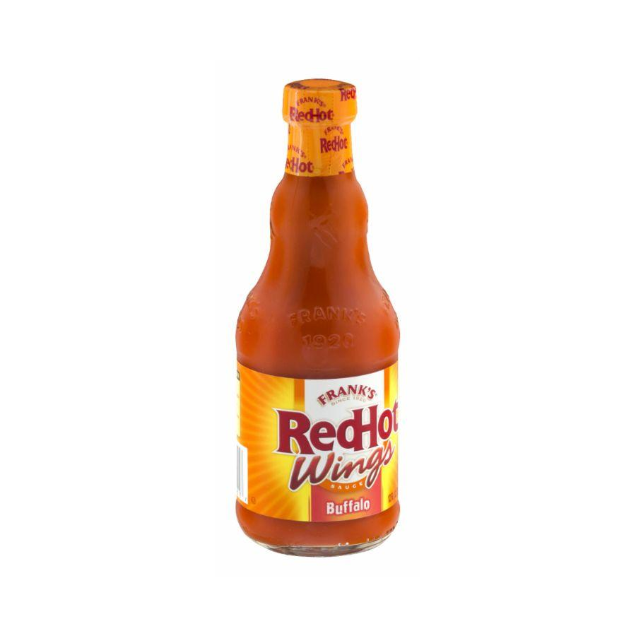 Franks Red Hot Wings Buffalo Sauce, 12 oz