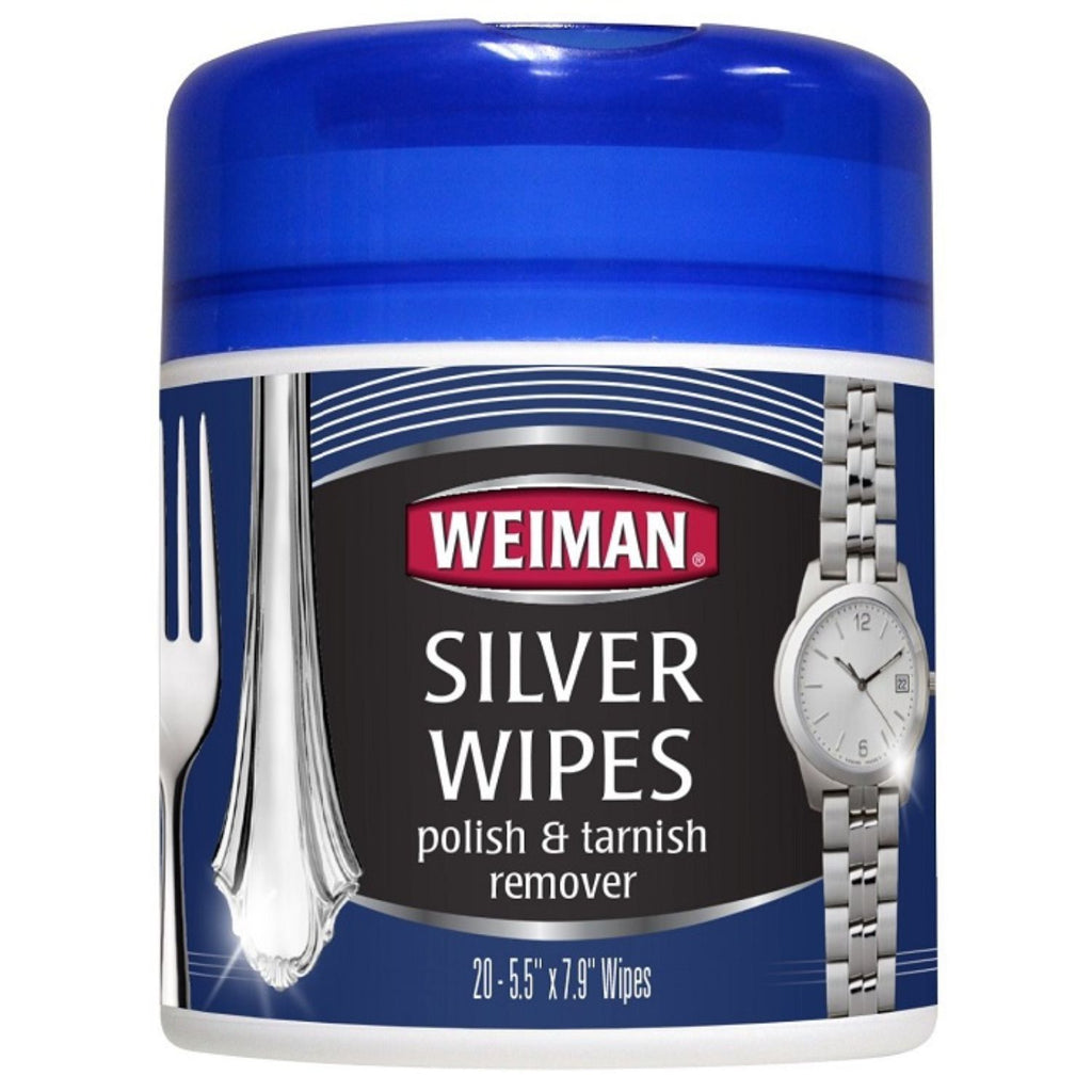 Weiman, Silver Wipes, 20 Ct