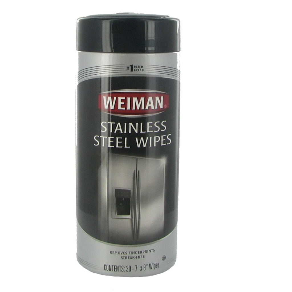 Weiman, Stainless Steel Wipes, 30 Ct