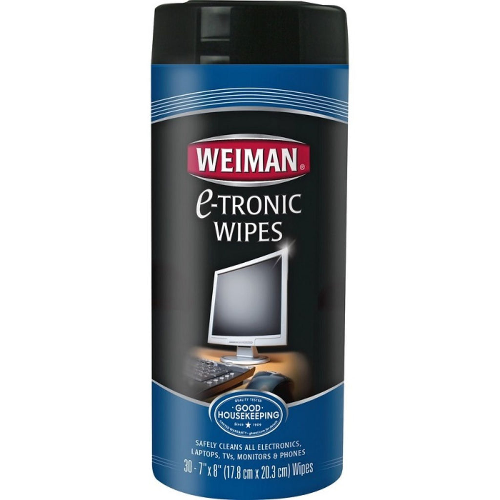 Weiman, Cleaner Wipe E-Tronic, 30 Ct