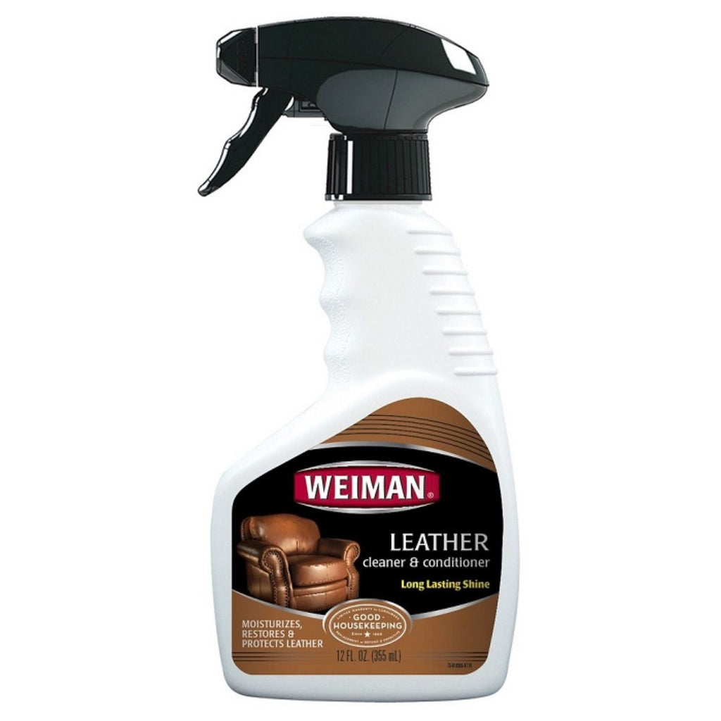 Weiman, Leather Cleaner & Conditioner, 12 oz